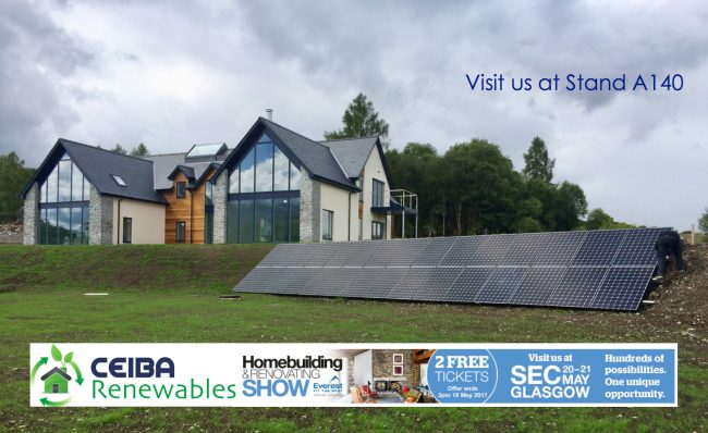Visit us at Glasgow's Homebuilding & Renovating Show 2017