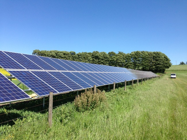 Guise Farm 50kWp Solar PV System