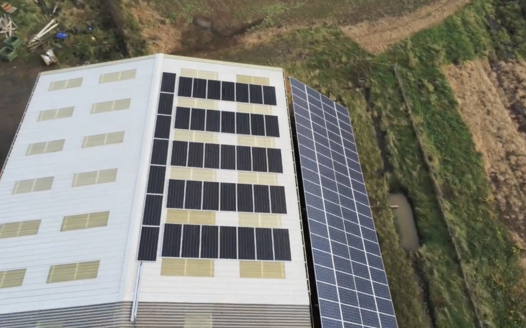 Dowhill Farm Drone Footage