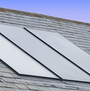 roof integrated solar PV panels