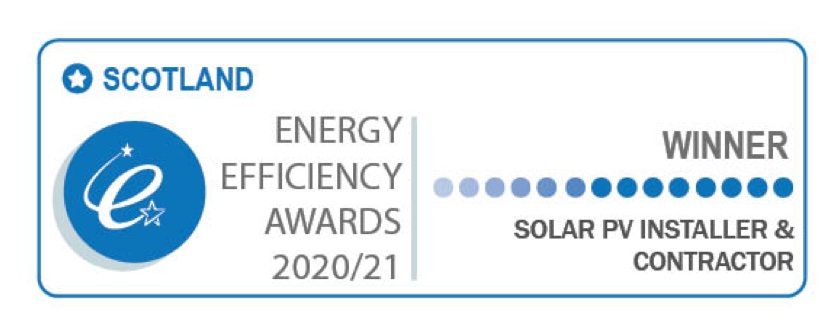 Ceiba Win Solar PV Installer and Contractor of The Year 2020/21